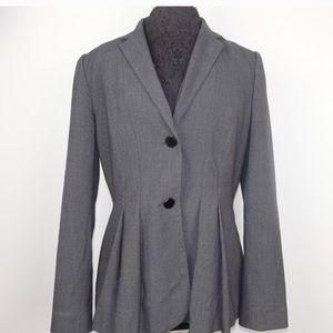 Calvin Klein flared 2 button blazer
